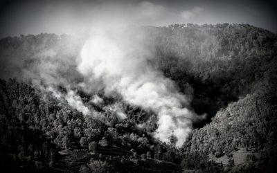 Niet alleen de aarde brandt